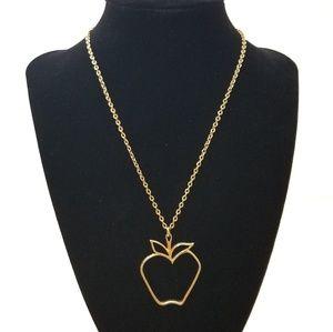 Vintage Sarah Coventry Big Apple Necklace